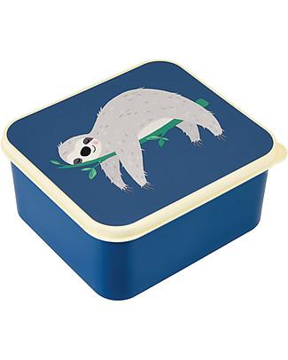 Rex London Contenitore Porta Pranzo, Bradipo 13,5x15x7 cm - Originale e Privo di BPA! Contenitori Latte e Snack