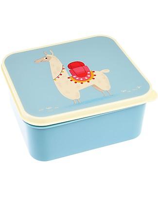 Rex London Contenitore Porta Pranzo, Lama 13,5x15x7 cm - Originale e Privo di BPA! Contenitori Latte e Snack