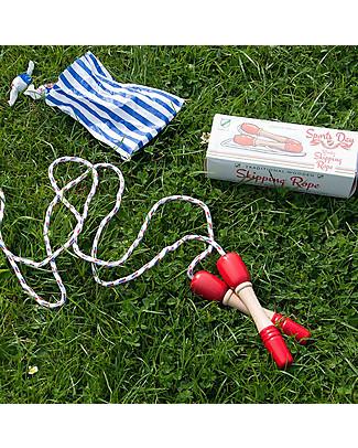 Rex London Corda per Saltare, 200 cm - Confezione regalo! Giochi all'Aperto