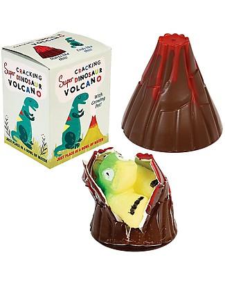 Rex London Dinosaur Cracking Volcano, il Dinosauro che Cresce! Giochi Creativi