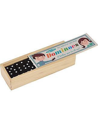 Rex London Domino in Scatola di Legno – Ottima idea regalo! Giochi Di Una Volta