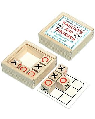 Rex London Gioco del Filetto in Scatola di Legno – Ottima idea regalo! Giochi Di Una Volta
