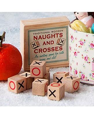 Rex London Gioco del Filetto in Scatola di Legno - Ottima idea regalo! Giochi Di Una Volta