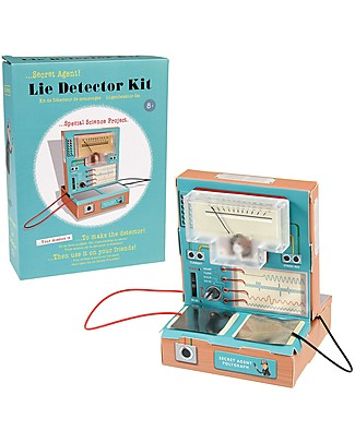 Rex London Kit Fai da Te Macchina della Verità - Scopri i bugiardi e impara i principi dell'elettricità Giochi STEM
