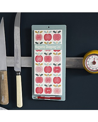 Rex London Lista della Spesa Magnetica, Mela Vintage Accessori cucina