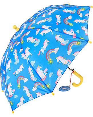 Rex London Ombrello per Bambini, Magico Unicorno - Sicuro e Resistente! Ombrelli e Calosce