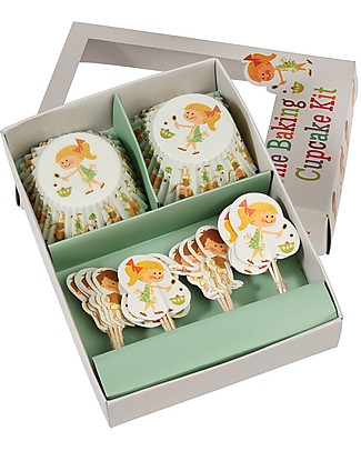 Rex London Set Stampini da Cupcake e Decorazioni Torta, Home Baking Decorazioni per Torte