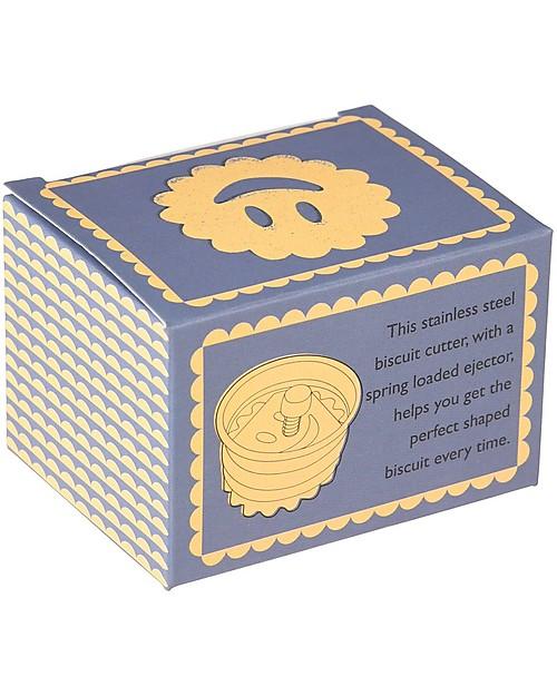 Rex London Stampino per Biscotti con Molla, Happy Face Decorazioni per Torte