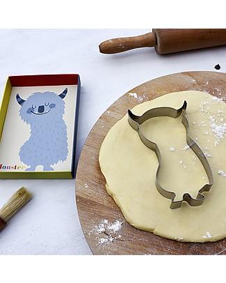 Rex London Stampino per Biscotti Cookies, Mostricciatolo Decorazioni per Torte