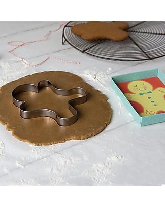 Rex London Stampino per Biscotti Pan di Zenzero, Omino Gingerbread Decorazioni per Torte