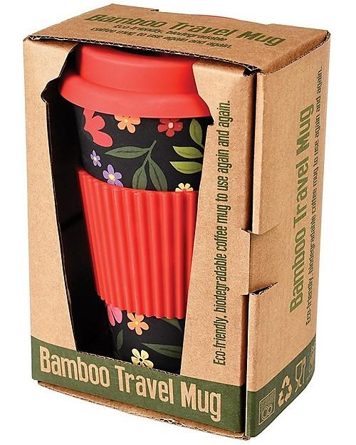 riutilizzabile ecologica Rex London Tazza da caff/è da viaggio in bamb/ù design a scelta