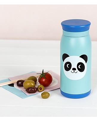 Rex London Thermos per Bambini 350 ml, Miko il Panda - Acciaio inox Borracce Termiche