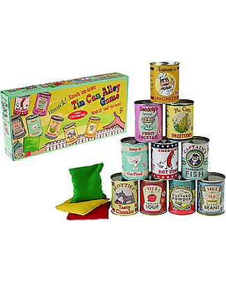 Rex London Tiro al Barattolo – Perfetto per feste e giochi a premi! Giochi Di Una Volta