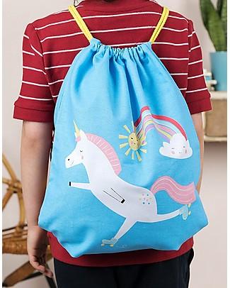 Rex London Zainetto Morbido 37 x 31 cm, Magico Unicorno - Perfetto per l'asilo! Zainetti