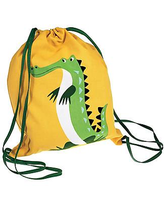 Rex London Zainetto Morbido 37 x 33 cm, Crocodile - Perfetto per l'asilo! Zainetti