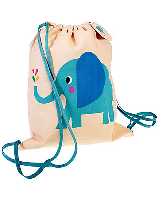 Rex London Zainetto Morbido 37 x 33 cm, Elvis the Elephant - Perfetto per l'asilo! Zainetti