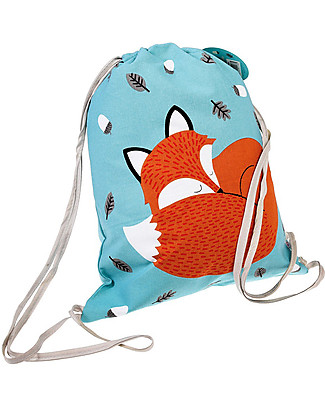 Rex London Zainetto Morbido 37 x 33 cm, Rusty the Fox - Perfetto per l'asilo! Zainetti