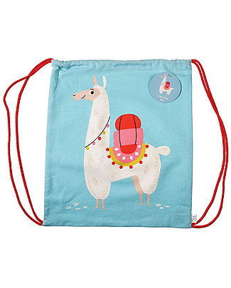 Rex London Zainetto Morbido 38 x 34 cm, Lama Dolly - Perfetto per l'asilo! Zainetti