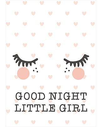 Rose in April Poster per la Cameretta - Frase della Buonanotte Mensole