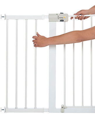 Safety 1st 28 cm Extension for Metal U-Pressure Easy-Close Safety Gate, White Safety Gates