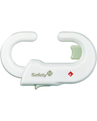 Safety 1st Blocca Maniglie – Si adatta a qualunque armadietto!  Ferma Porta