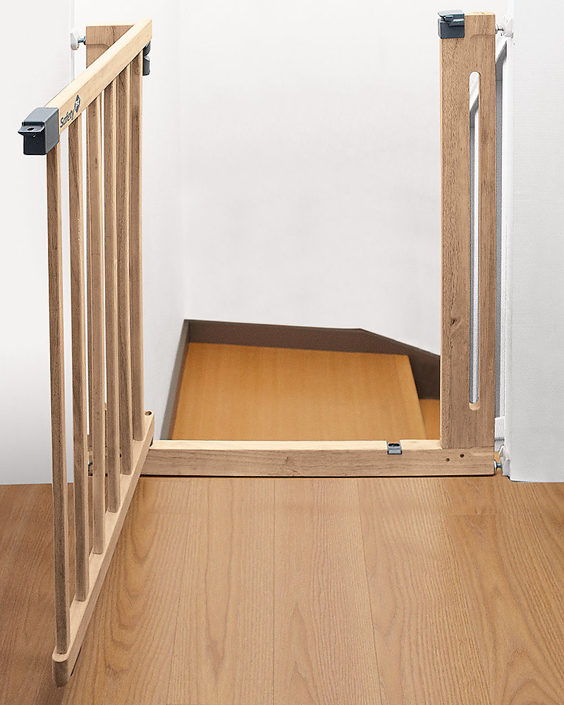 Molto Safety 1st Cancelletto a Pressione 73-80 cm in Legno Easy Close  QW06