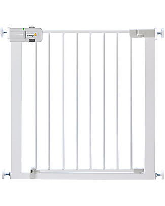 Safety 1st Cancelletto a Pressione 73-80 cm in Metallo Easy Close - estensibile con kit fino ad 136 cm Cancelletti di Sicurezza