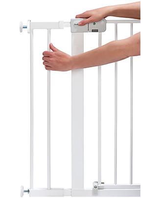 Safety 1st Estensione 14 cm per Cancelletto a Pressione Easy Close in Metallo, Bianco Cancelletti di Sicurezza