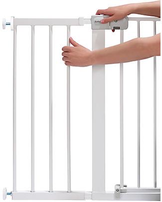 Safety 1st Estensione 28 cm per Cancelletto a Pressione Easy Close in Metallo, Bianco Cancelletti di Sicurezza