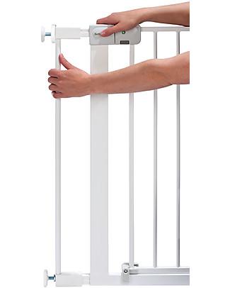 Safety 1st Estensione 7 cm per Cancelletto a Pressione Easy Close in Metallo, Bianco Cancelletti di Sicurezza