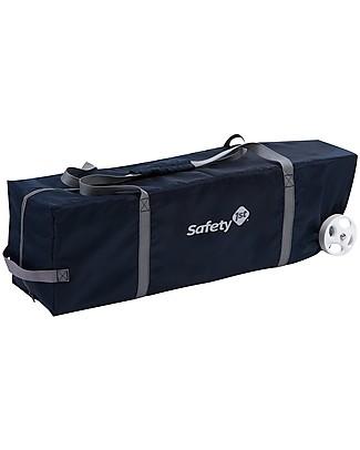 Safety 1st Lettino da Viaggio Full Dreams, Blu Scuro - Con fasciatoio e tasche portaoggetti! Lettini da Viaggio