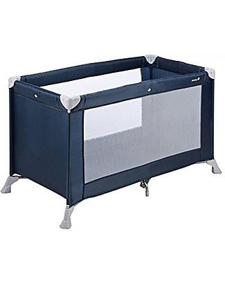 Safety 1st Lettino da Viaggio Soft Dreams, Blu Navy - Solo 8 Kg di peso! Lettini da Viaggio