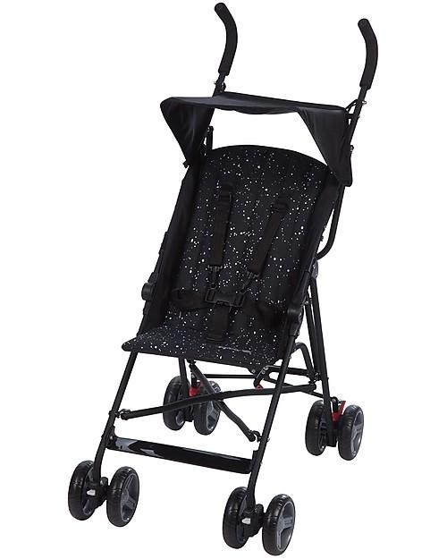 Safety 1st Passeggino Flap, Splatter Black - Ultracompatto e leggerissimo Passeggini