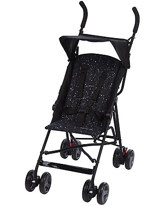 Safety 1st Passeggino Flap, Splatter Black - Ultracompatto e leggerissimo Passeggini