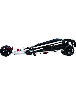 Safety 1st Passeggino Slim, Plain Red - Leggero e compatto! Passeggini