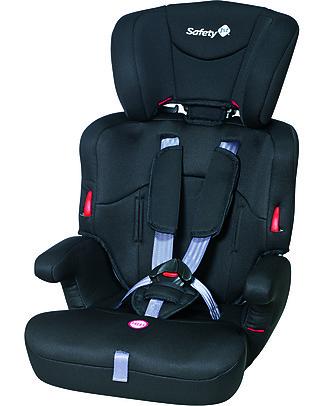 Safety 1st Seggiolino Auto Ever Safe, Nero – da 9 mesi a 12 anni!  Seggiolini Auto