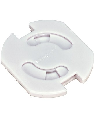 Safety 1st Set 8 Copriprese Girevoli, Bianco Accessori sicurezza