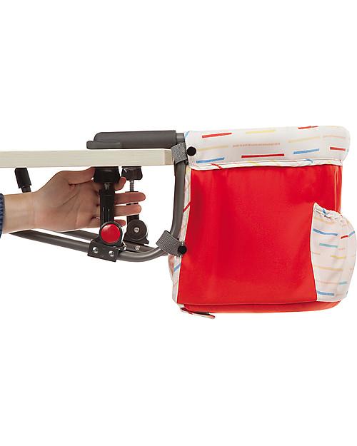 Safety 1st Smart Lunch, Seggiolone Portatile da Tavolo - Rosso Seggiolini Da Viaggio