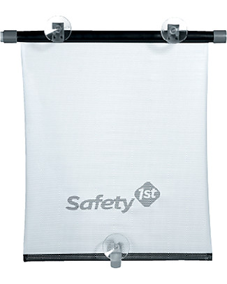 Safety 1st Tendina Parasole Avvolgibile 35,5 x 42,5 cm - Si riavvolge automaticamente Tende