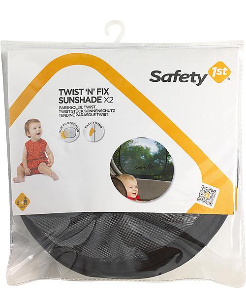 Safety 1st Tendina Parasole Twist, 2 pezzi, 46 x 36 cm - Si fissa con una ventosa Accessori Seggiolini Auto