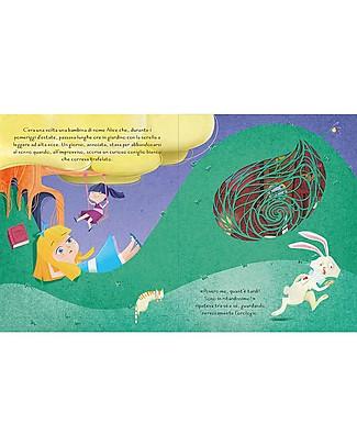 Sassi Junior Fiabe Intagliate: Alice nel Paese delle Meraviglie, 32 Pagine - Età: 5+ Libri