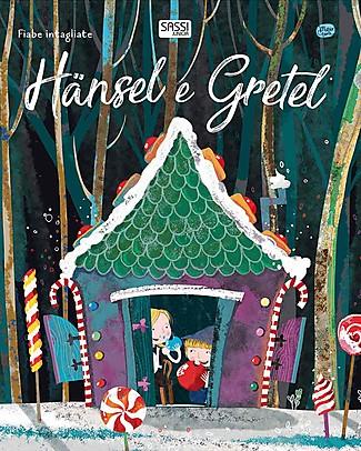 Sassi Junior Fiabe Intagliate: Hansel e Gretel, 32 Pagine - Età: 5+ Libri