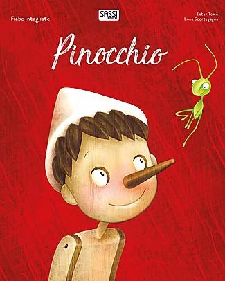 Sassi Junior Fiabe Intagliate: Pinocchio, 32 Pagine - Età: 5+ Libri