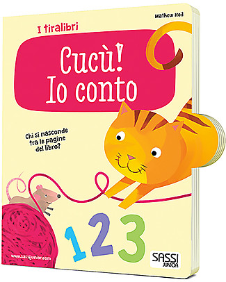 Sassi Junior I Tiralibri, Cucù: Io Conto - Da 1 anno in su! Giochi Per Inventare Storie