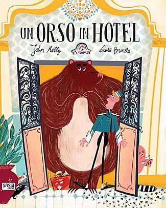 Sassi Junior Libri Illustrati: Un Orso in Hotel, 24 Pagine - Età 3+ Libri