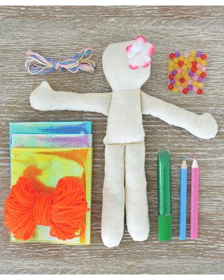 Seedling Crea la Tua Bambola Sirena - Kit Creativo (dai 5 anni) Kit Fai Da Te