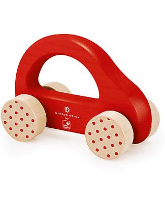 Selecta Little Racer, Gioccatolo in legno con ruote Sonagli