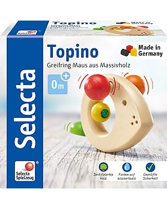 Selecta Topino – Un Classico in Legno del Marchio Selecta degli Anni '90! Sonagli