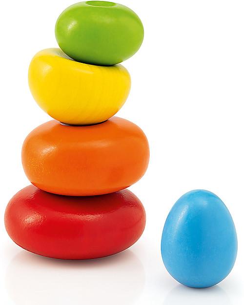 Selecta Wobbly Rocks – Gioco di Equilibrio in Legno Giochi Montessoriani