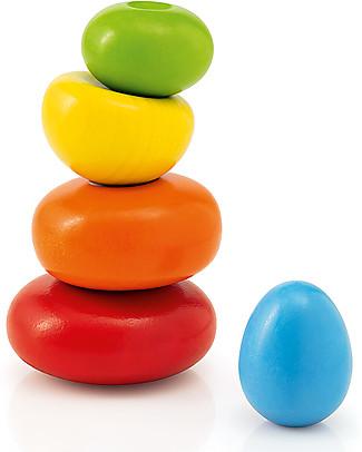 Selecta Wobbly Rocks - Gioco di Equilibrio in Legno null